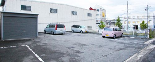 吉田道場前専用駐車場