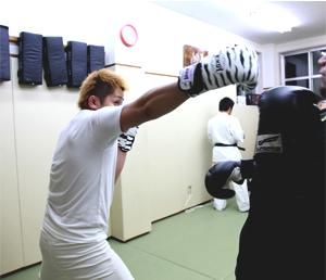キックボクシング(打撃)クラス写真